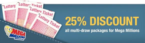 Mega Millions lottery online discount