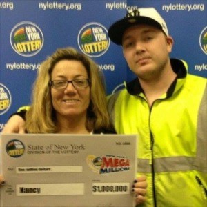 Mega Millions $1 million winner Nancy Pasqua