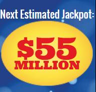 Mega Millions jackpot now at $55 million