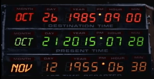 Back to Future, just as iconic as the Mega Millions lottery