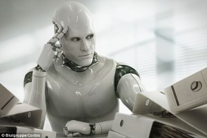 Robots at the workplace leaves us more time to try and win a huge Mega Millions jackpot