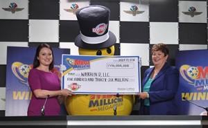Mega Millions prize winner