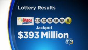 mega millions 393 million