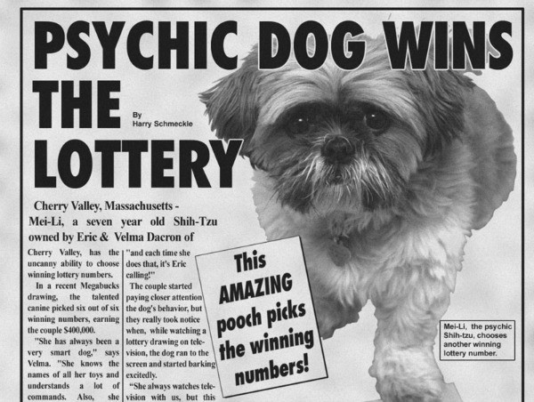 Could a psychic win Mega Millions?
