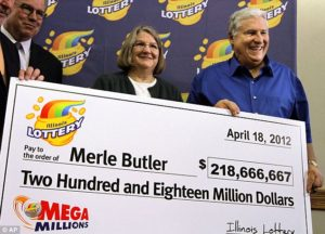 Merle and Patricia Butler, Mega Millions jackpot winners
