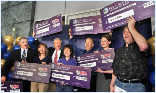 The Albany Seven Mega Millions syndicate