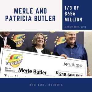 Merle and Patricia Butler - $656 Million