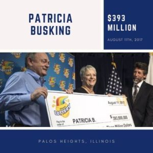 Patricia Busking - $393 Million
