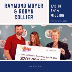 RAYMOND MOYER & ROBYN COLLIER - $414 Million
