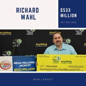 Richard Wahl - $533 Million