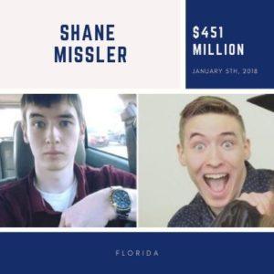 Shane Missler - $451 Million