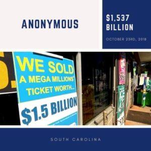Anonymous from South Carolina - $1.537 billion