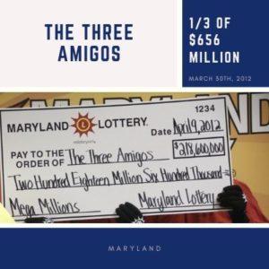 The Three Amigos - 1/3 of $656 million