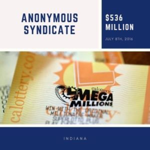 Unnamed Indiana Syndicate - $536 Million